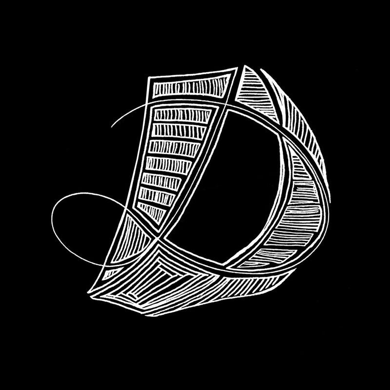 La lettre D – Lettrine #1